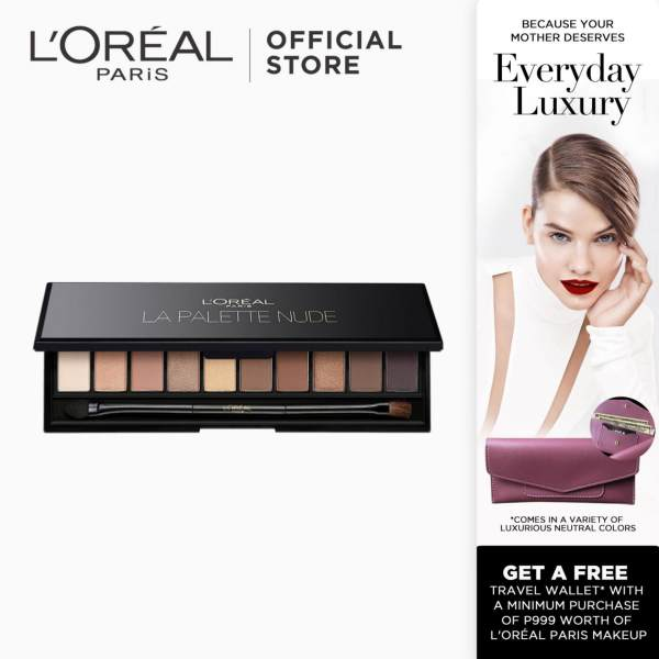La Palette Sophisticated Eye Shadow Palette - Nude Beige 01 by LOreal Paris Color Riche Mothers Day Philippines