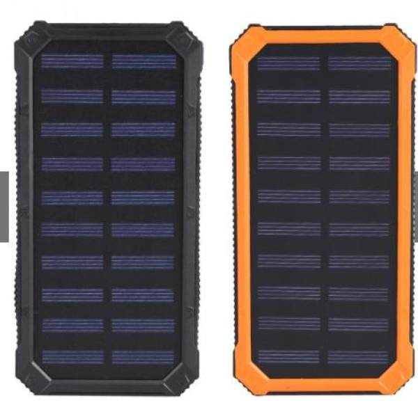 20000mAh Waterproof Solar Energy Power Bank With 6pc LED Light And Compass  Philippines