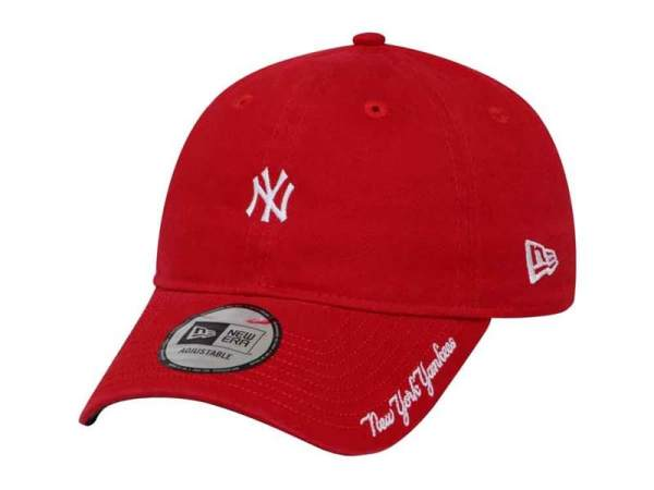 0a43bb1bd57 ... greece new york yankees mlb washed duck canvas scarlet 9forty cap  philippines 98dbf 7e583 ...