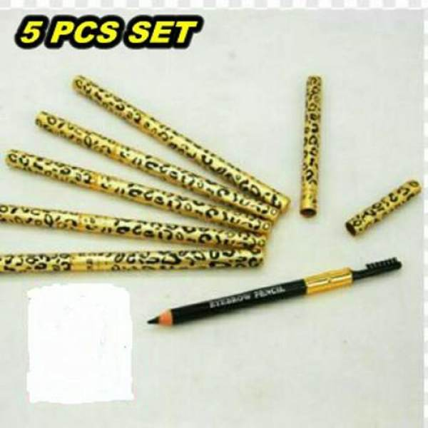 Eyebrow Pencil Mac with Brush (brown) Set Of 5pcs Philippines
