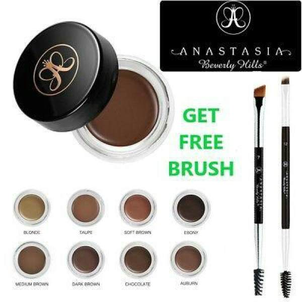 Anastasia Beverly Hills Dipbrow pomade ( Taupe) with free anastasia eyebrow brush Philippines