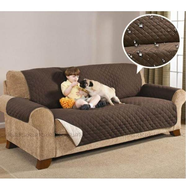 Couch Reversible Quilted Sofa Protector Washable Sofa Coat Couch Dress  Philippines
