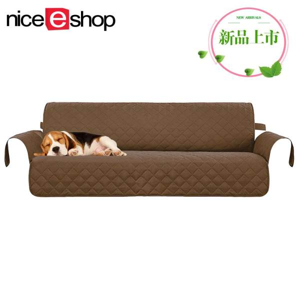 NiceEshop 3 Seater Sofa Slipcovers, Professional Non Slip Quilted Pet Sofa  Protector Cover, Seat Width 66 ...