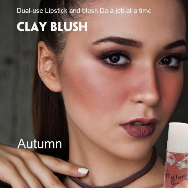 Organic Clay Blush Autumn Clay Blush Multi Purpose Cosmetic Bar Lip Color Lip Stick Blush On Make up 30g Matte Edition Philippines