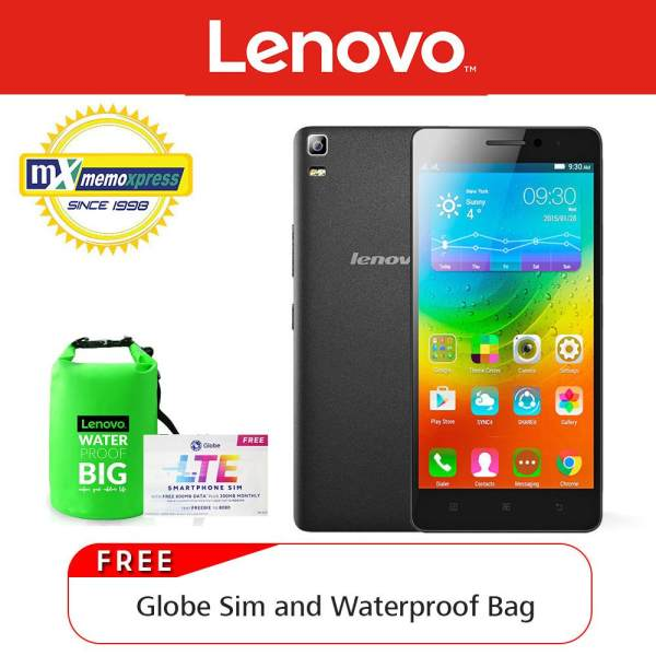 Lenovo A7000 Plus 16GB Black With Free Water Proof Bag And Sim Card Philippines