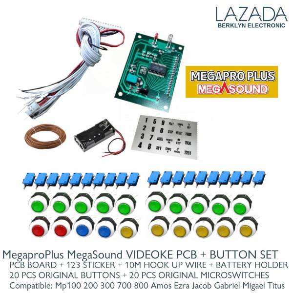pcb remote button set for videoke machine megapro plus megasound rh karaokeph online Philippine Videoke Sign Philippines Boracay Beach Resort
