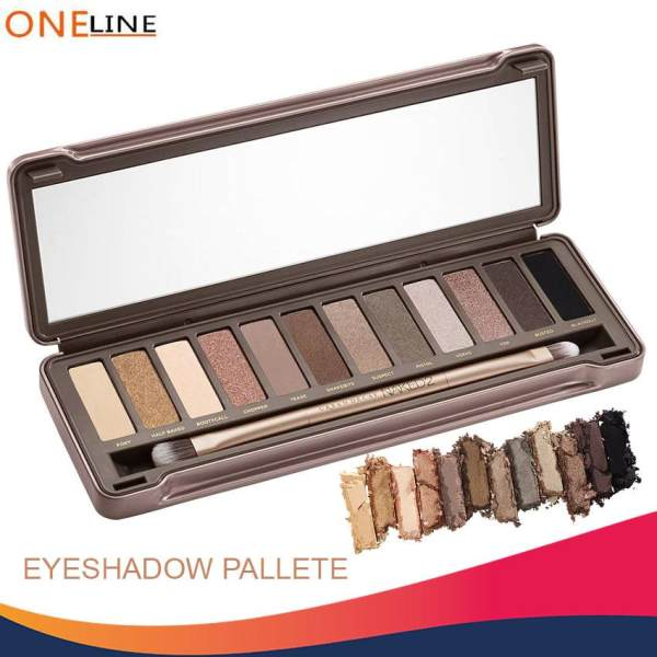 Oneline N2 12 Earth Tone Shade Eyeshadow Pallete Philippines