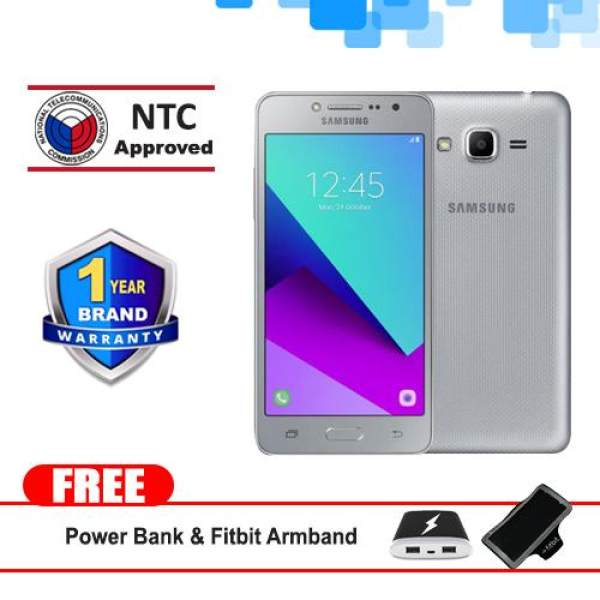 Samsung Galaxy J2 Prime 8GB (Silver) Mobie Phone with Free Fitbit Sports Armband and Power Bank Philippines