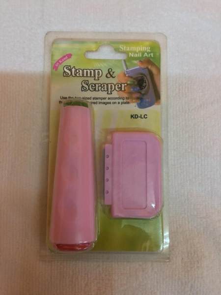 Stamp and scraper (for nails) Philippines