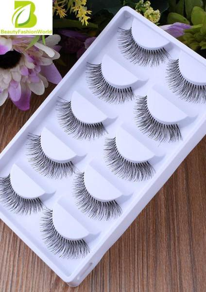 5Pairs Natural Eye Lashes Extension Beauty Makeup Long False Eyelashes Philippines