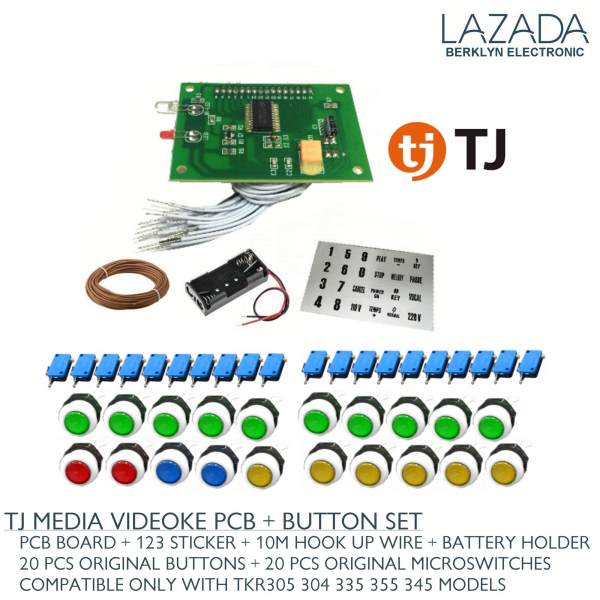 pcb remote button set for videoke machine tj media battery holder rh karaokeph online Philippine Videoke Sign WoW Videoke Philippines