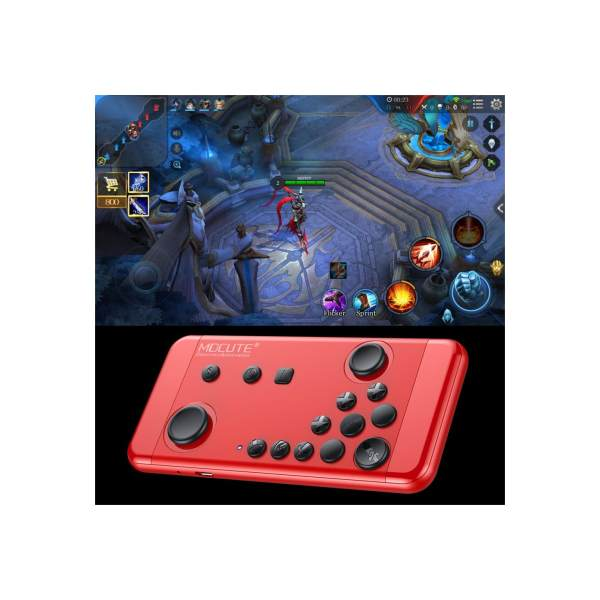 MOCUTE Thin Red RULES of SURVIVAL NBA2k18 MOBILE LEGENDS Wireless Mobile Gamepad Bluetooth 3.0 Game Controller