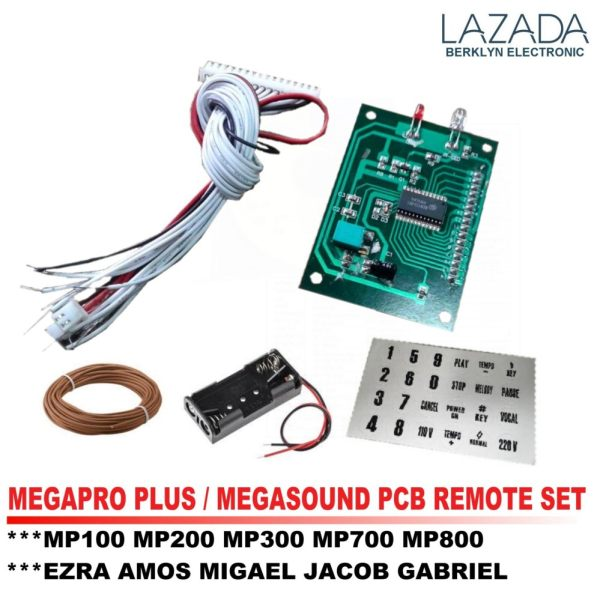 pcb remote set for videoke machine megapro plus megasound player rh karaokeph online Philippines Boracay Beach Resort Philippines People