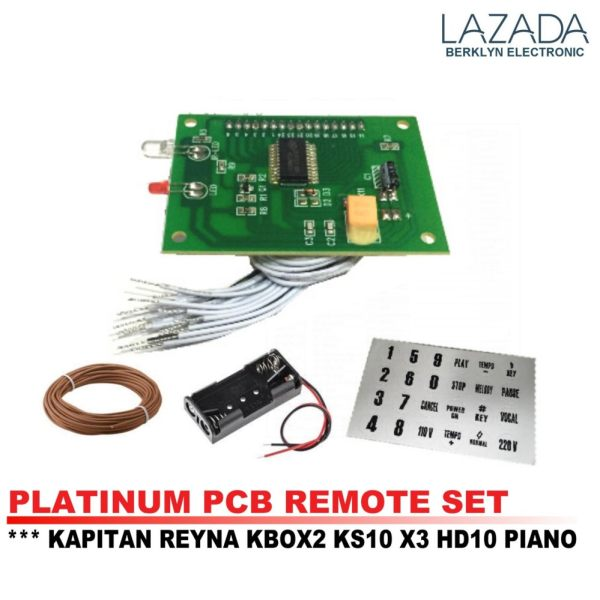 pcb remote set for videoke machine platinum player battery holder rh karaokeph online Videoke Philippines Bar WoW Videoke Philippines