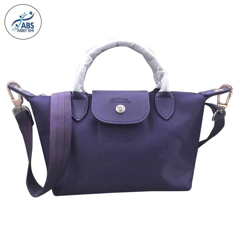 fa391f84cdba Abby Shi  360 LC Ladies Casual Small Composite Bags Leather Handbag Nylon  Handbag (small)