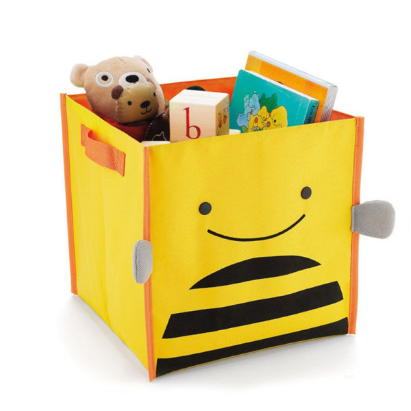 Animal Zoo Toy Storage Bin Kids Box Organizer Chest Collapsible Fabric  Container (Bee)   Intl Philippines