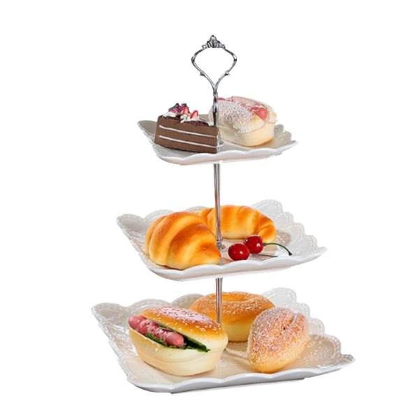 BenedictionPractical High-VSuality Hot Sell 3 Layers Crown Cake Plate Stand Desserts Pastry Fruits Rack Holder ...  sc 1 st  Furniture Philippines & BenedictionPractical High-VSuality Hot Sell 3 Layers Crown Cake ...