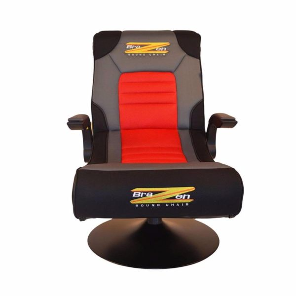 BraZen Spirit Duo 2.1 Bluetooth Gaming Chair {Black/Red/Grey} Philippines