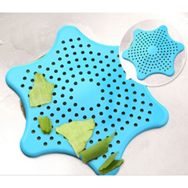 Cute Home Living Floor Drain Hair Stopper Bath Catcher Sink Strainer Sewer Filter Shower Cover (blue) Philippines