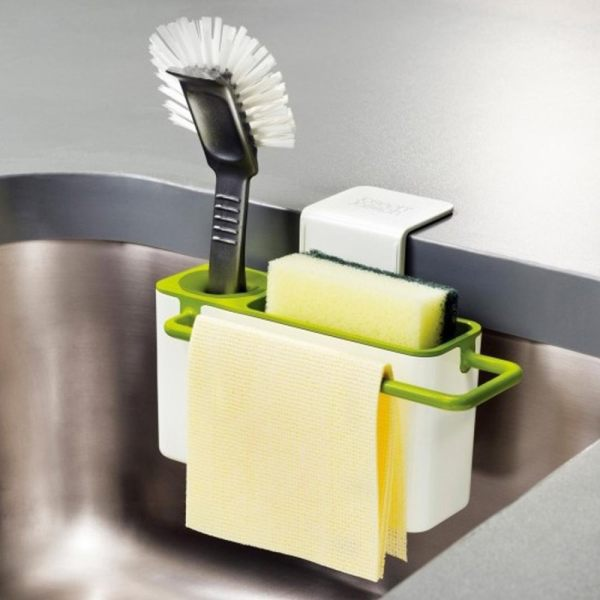 Easy Kitchen Suction Storage Box Bathroom Gadget Draining Plastic Holder For Home Use Intl Philippines