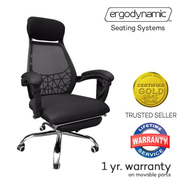 Ergodynamic™ EHC-P13 Reclining High Back Office Chair Flexible Mechanical Armrest Pullout Foot Stool ...  sc 1 st  Furniture Philippines & Ergodynamic™ EHC-P13 Reclining High Back Office Chair Flexible ...