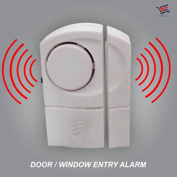 Household Or Office Establishment Security Door Window Entry Alarm