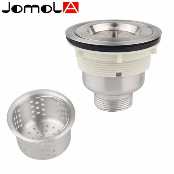 JOMOLA SUS304 Stainless Steel Kitchen Sink Drain Strainer Kit with ...