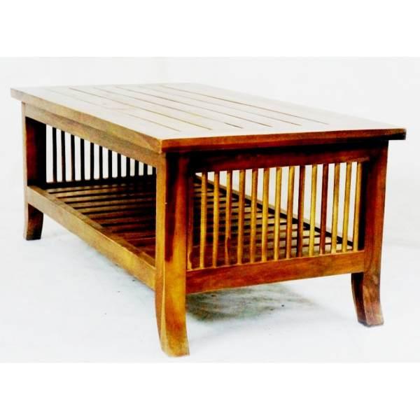 Exceptionnel Linden Teak Handcrafted Solid Teak Wood 092 Center Table Furniture (Gold  Teak Series Indoor Design) Philippines