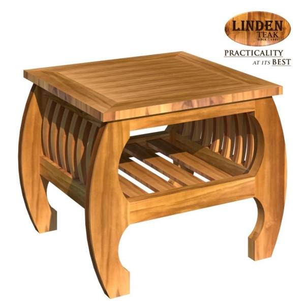 Linden Teak Handcrafted Solid Teak Wood Sedan Center Table Furniture (Gold  Teak Series Indoor Design) Philippines