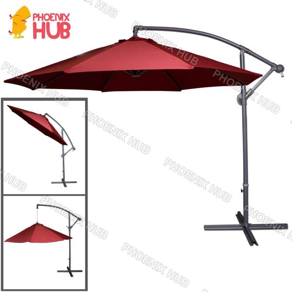 PhoenixHub All New 2018 Heavy Duty Multi Functional Umbrella Beach Umbrella  Patio Garden Umbrella 267x267x244cm Philippines