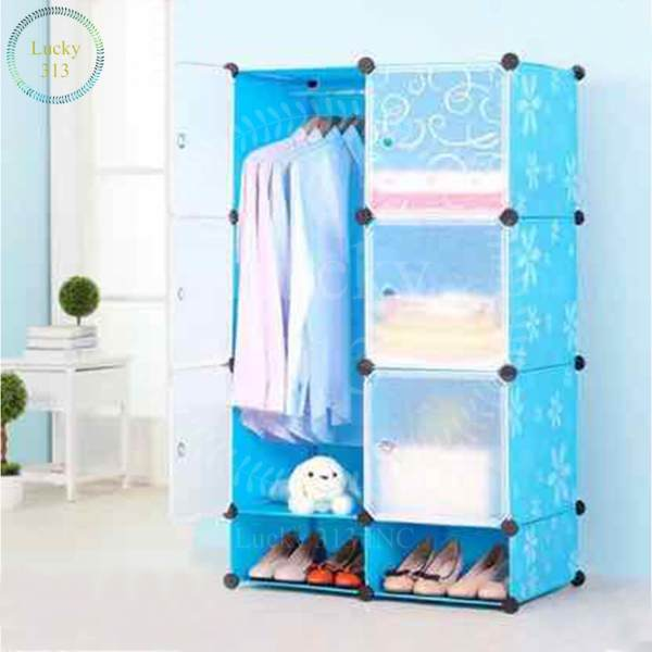 Tupper Cabinet 6 cubes White Doors Blue DIY Storage Cabinet with Shoe Rack Philippines  sc 1 st  Furniture Philippines & Tupper Cabinet 6 cubes White Doors Blue DIY Storage Cabinet with ...