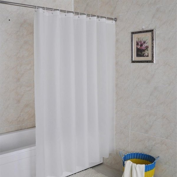 Waterproof Shower Curtain Shower Curtain Rather Than Non-White Solid ...