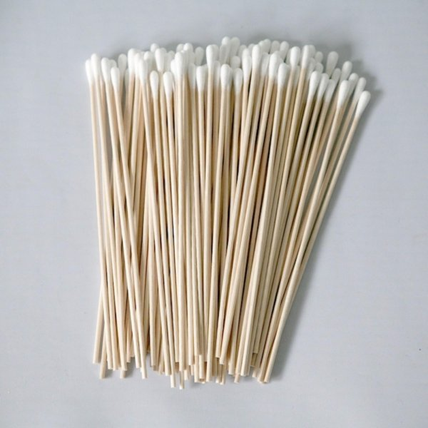 200X Cotton Swabs 6 Extra Long Wooden Handle Makeup Applicator Q-tip Stick - intl Philippines