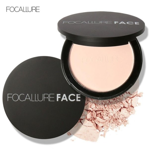 2.4 oz Professional Oil-control Breathable Wet & Dry Dual Purpose Makeup Pressed Powder Foundation with Soft Powder Puff NET WT:1# - intl Philippines