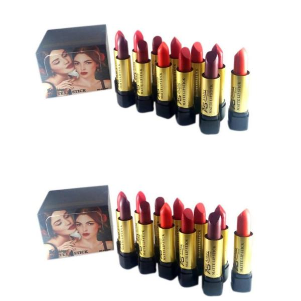 SET OF 2 Ashley Shine Matte Lipsticks 12pcs (Multicolor) Philippines