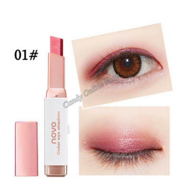 Candy Online Korea NOVO 5099 Double Color Gradient Eye Shadow Makeup #1 Philippines