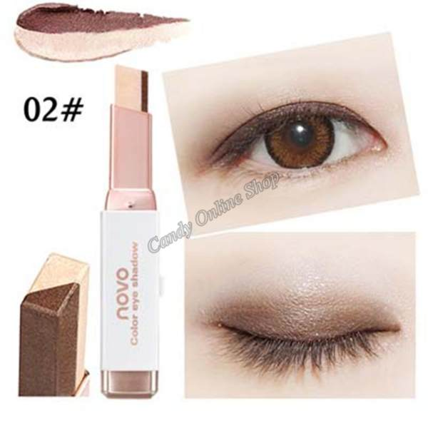 Candy Online Korea NOVO 5099 Double Color Gradient Eye Shadow Makeup #2 Philippines