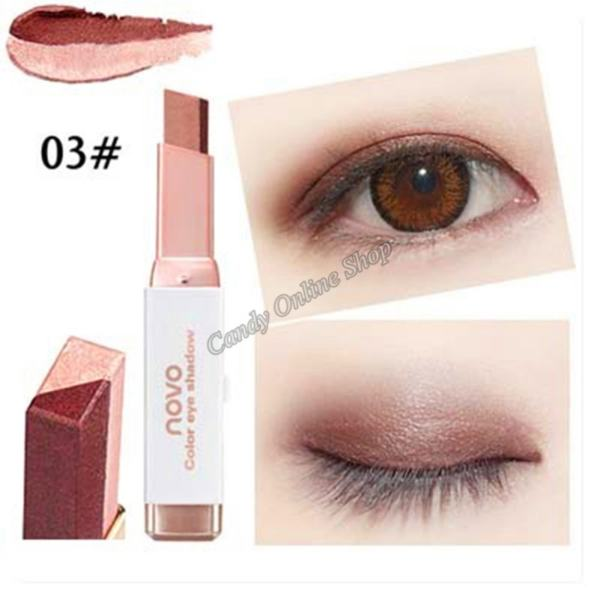 Candy Online Korea NOVO 5099 Double Color Gradient Eye Shadow Makeup #3 Philippines