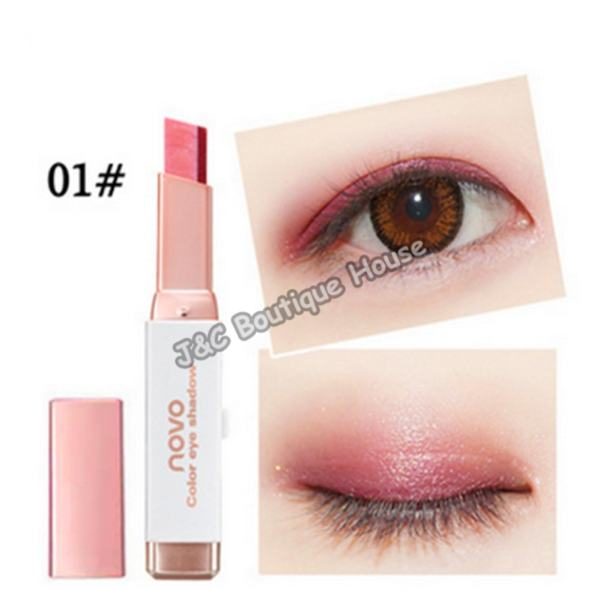 J&C  Korea NOVO 5099 Double Color Gradient Eye Shadow Make Up #1 Philippines