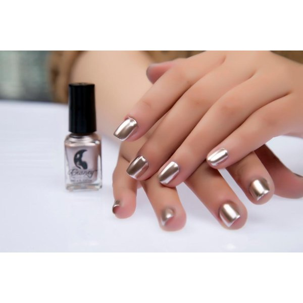 Mirror Nail Polish Plating Silver Paste Metal Color Stainless Steel Glod - intl Philippines