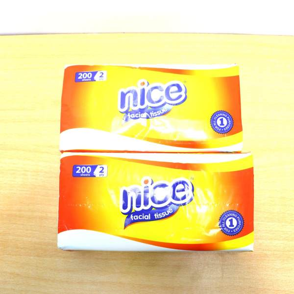 Nice Facial Tissue 200sheets+2ply 2s 124309 w67 Philippines