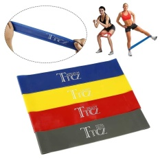 CANGLEX 4PCS Yoga Sports Exercise Band Resistance Loop Band Fitness Workout Band Exercise - intl