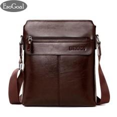 EsoGoal Men s Shoulder Bag Vintage Leather Briefcase Messenger Bags  Business Handbags 65e54f86f2073