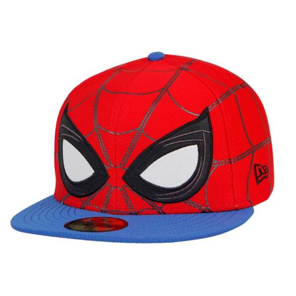 b89442a8b82 new zealand new era spiderman marvel allover red blue 59fifty cap  philippines 569ba 313be
