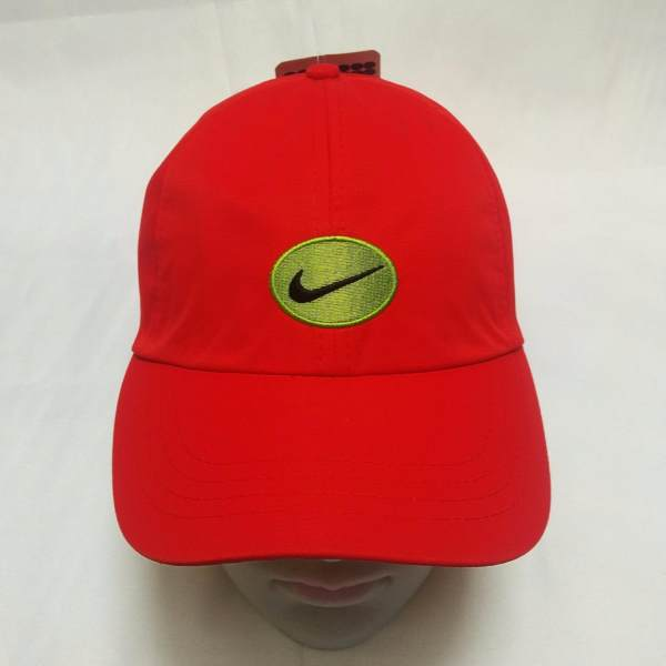 6024be34 ... cheap nike green logo 100 cotton fabric baseball cap red philippines  0490e be4d8