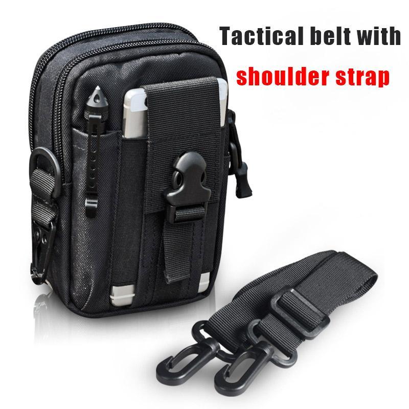 b32ea70e4c01 Shoulder Strap Pilot Army Fans,multifunction Waist Packs Tactical  pockets Tactical waist bag pocket Utility Bag mobile phone bag Tactical  Molle Pouch ...