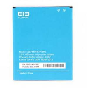 Hình thu nhỏ sản phẩm For Elephone P7000 Battery MTK6752 Battery Original Accessories 3450mAh Mobile Phone Replacement Parts