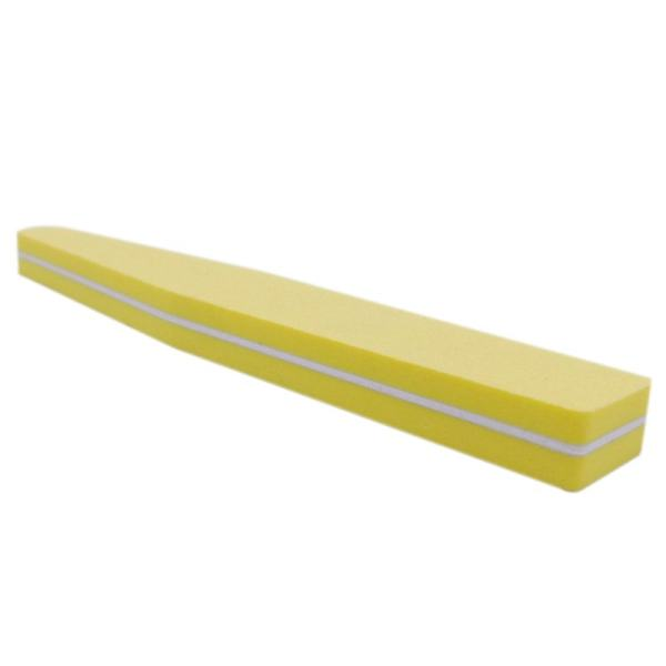 Double Side 100 180 High Quality Nail File Buffer Sanding Washable Manicure Tool Yellow Philippines
