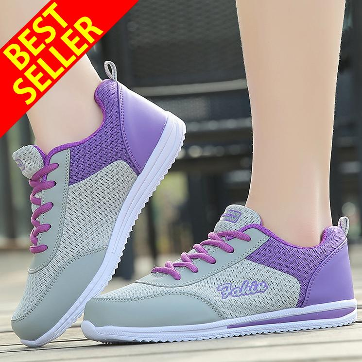 QINGSHUI Women Running Shoes Height Increasing Jogging Sports Light Shoes  Women Comfortable Breathable Sneakers - intl 7980feb3251