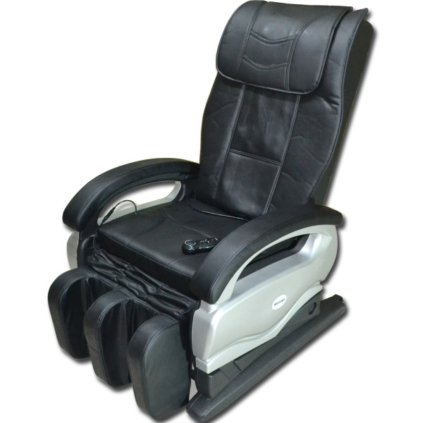 Huijun Sports Massage Equipments Massage Chair For Home And Office  (Black/Silver) Philippines
